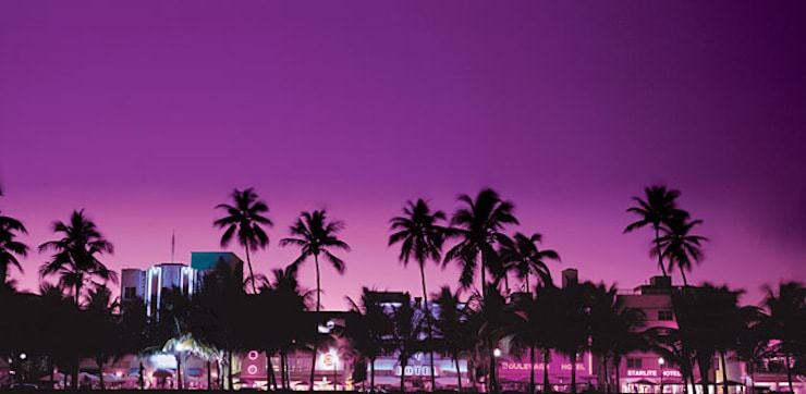 South Beach, Miami courtesy of Greater Miami CVB
