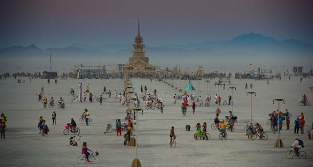 burning man result