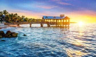 Pier at the beach in Key West, Florida USA (Photo via ventdusud / iStock / Getty Images Plus)