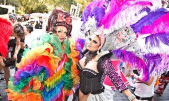 Sydney Gay and Lesbian Mardi Gras parade, Oxford Street. Photo / Destination NSW